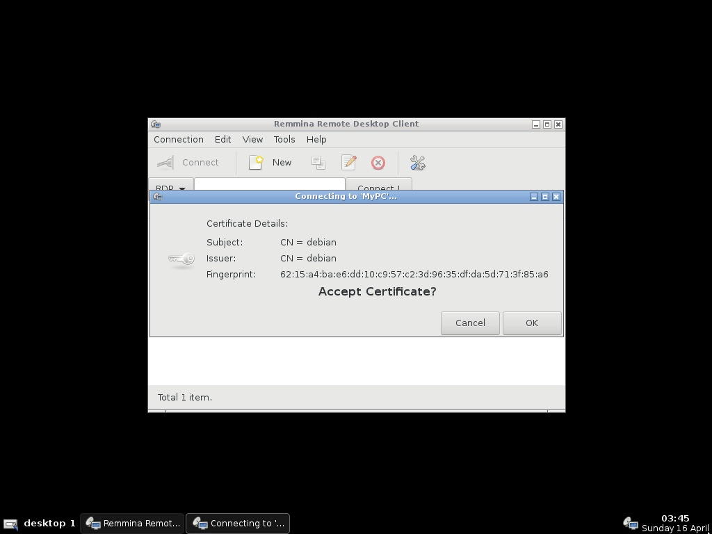 Thin client with Debian and xrdp - aguslr